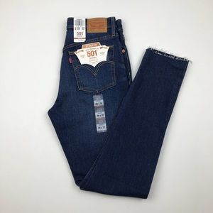 LEVI'S 501 Button Fly Skinny Stretch Jeans Re/Done